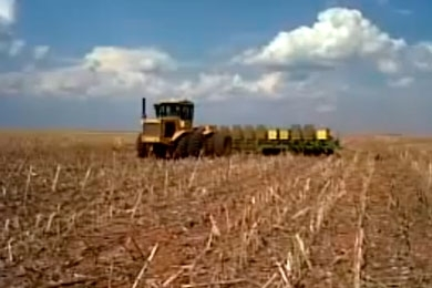 Muller TM 31 (360) chegando, plantio soja