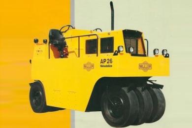 AP26H - Compactador de Pneus Hidrostático