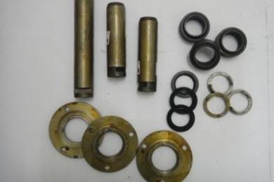 Componentes de articulação do chassi TM14